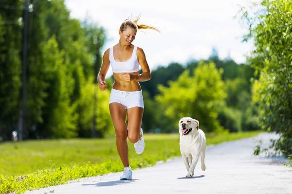 Laufen mit dem Hund